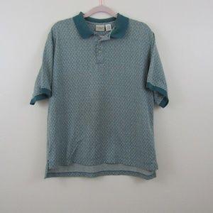 L.L Bean Men's Collard Short Sleeve Shirt